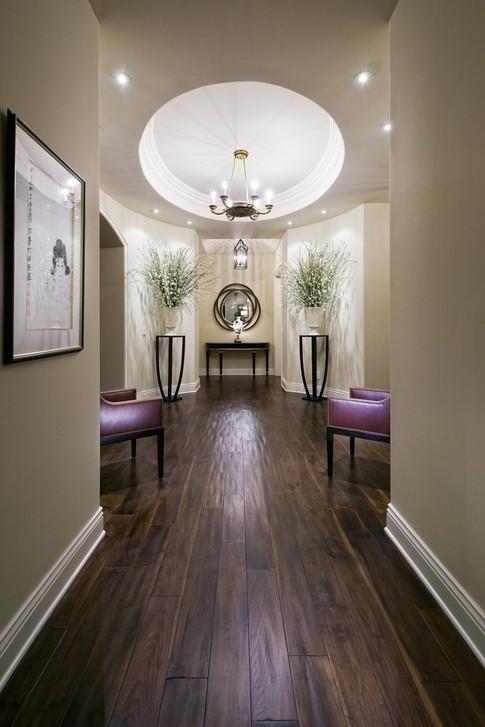 欧式风格石膏板走廊吊顶装修效果图装修效果图