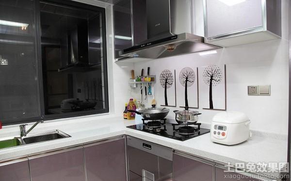 现代厨房瓷砖装修效果图欣赏装修效果图