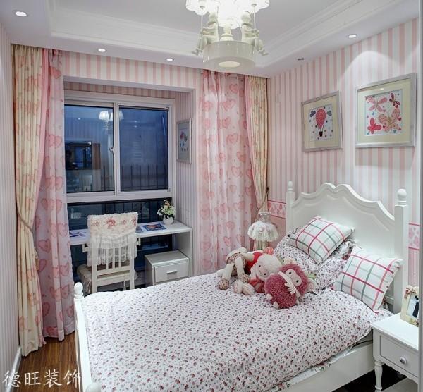 田园风格女生卧室设计效果图片装修效果图