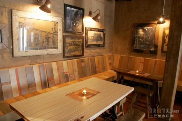 复古风格酒吧包间设计装修效果图_第2张 - 家居图库