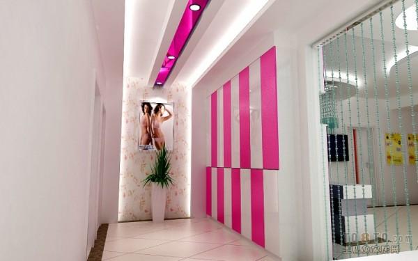 韩式美容院装修效果图装修效果图图片