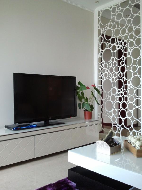 客厅镂空屏风隔断装修效果图大全装修效果图 第6张 家居图高清图片
