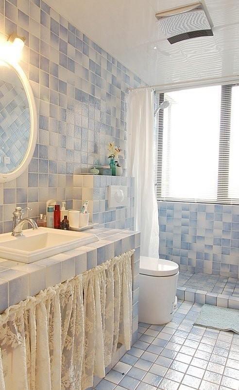 2013卫生间瓷砖图片大全装修效果图
