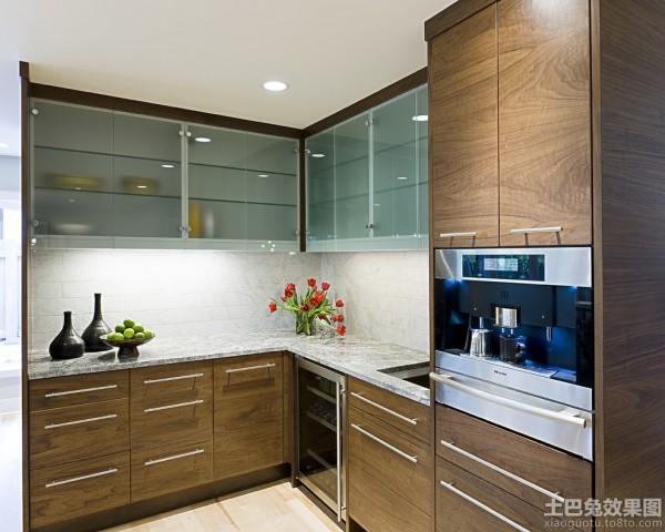 2013实木厨房整体橱柜效果图 (5/6)图片