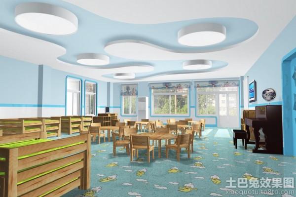 幼儿园教室环境布置图片大全装修效果图