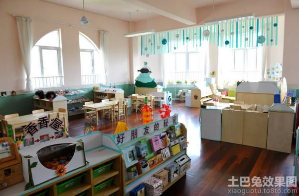 幼儿园教室环境布置吊饰装修效果图