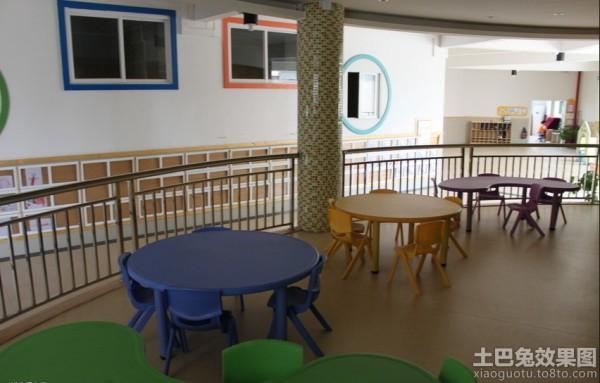 幼儿园桌椅摆放图片欣赏装修效果图