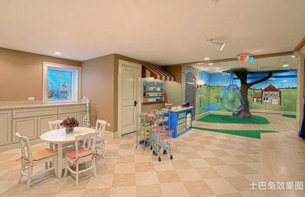 国外幼儿园教室装饰效果图装修效果图