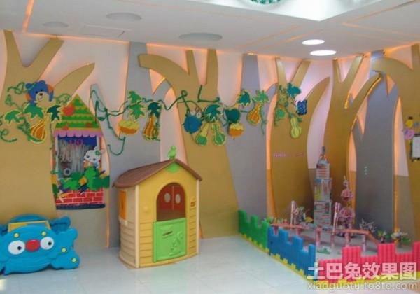 幼儿园教室装饰图案装修效果图