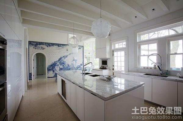 厨房瓷砖壁画效果图欣赏装修效果图