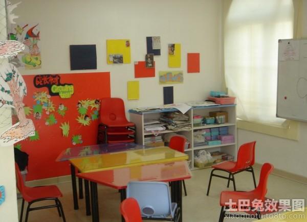 幼儿园室内装饰布置图片大全装修效果图