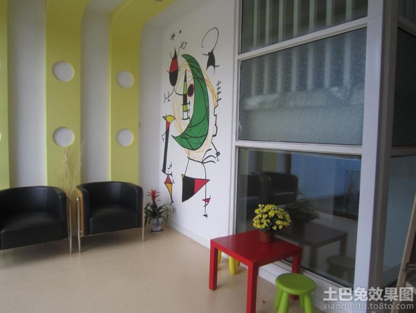 幼儿园手绘墙画图片装修效果图