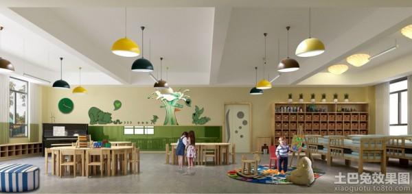 70平米幼儿园室内装修效果图片装修效果图
