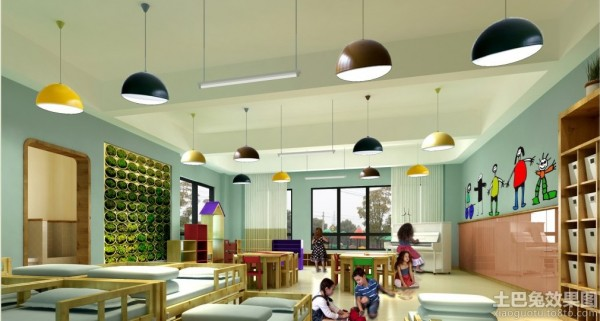国外幼儿园室内装修效果图片装修效果图