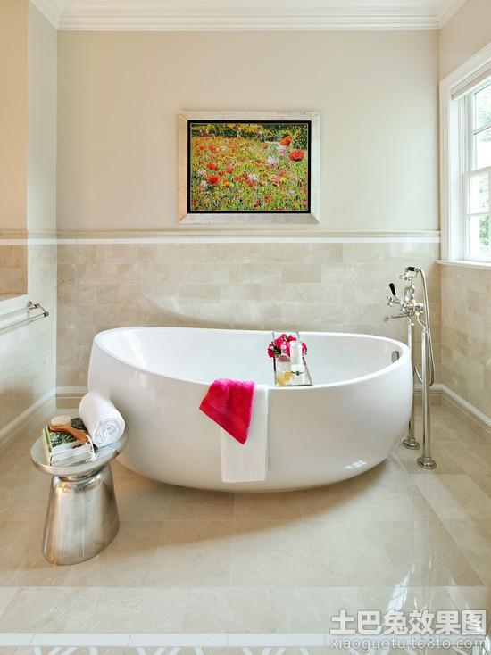 欧式卫生间瓷砖墙裙效果图装修效果图_第9张 - 家居
