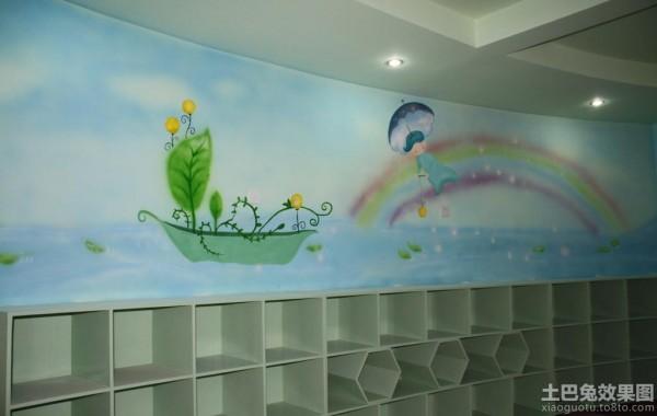 幼儿园卡通墙体彩绘图片装修效果图_第2张 - 家居图库