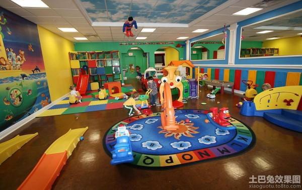 幼儿园室内装饰图片装修效果图