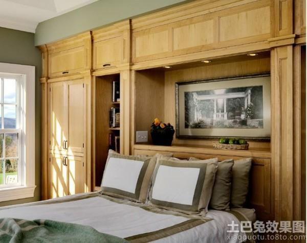 卧室实木衣柜门效果图装修效果图