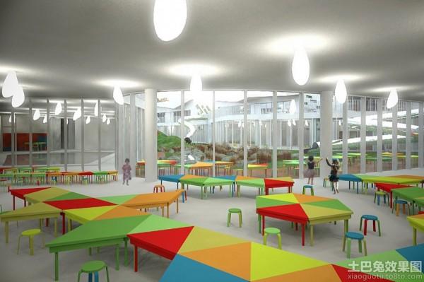 室内幼儿园设计效果图装修效果图