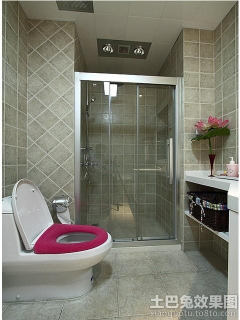 干湿分离卫生间淋浴室隔断设计 (1/6)