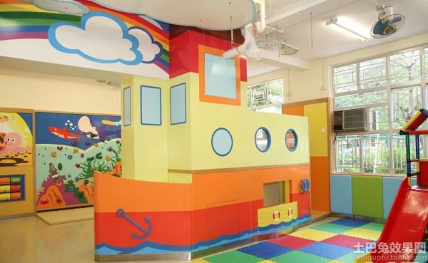 彩色幼儿园环境布置图片大全装修效果图