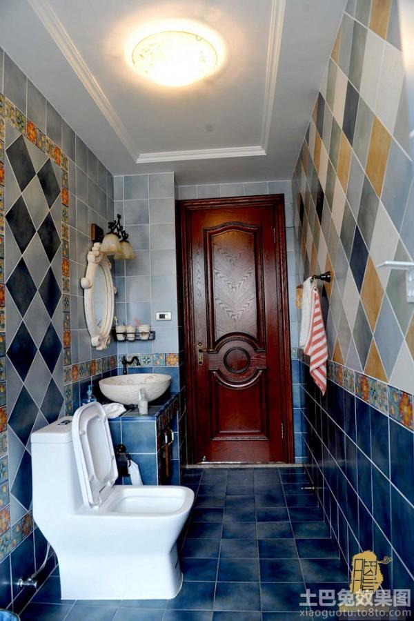 美式新古典风格卫生间瓷砖效果图 (7/7)图片