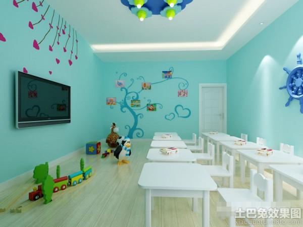 幼儿园教室墙面布置图片大全装修效果图