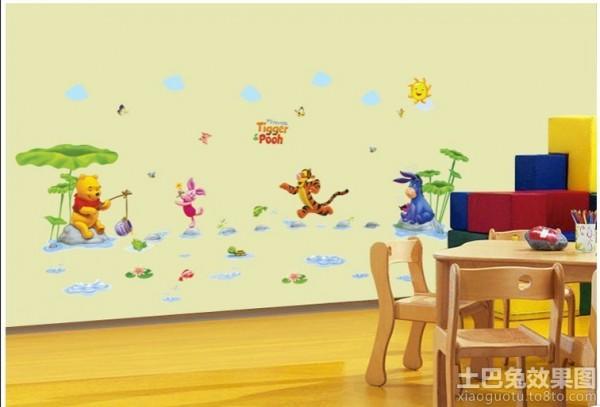 幼儿园室内墙面布置图片装修效果图