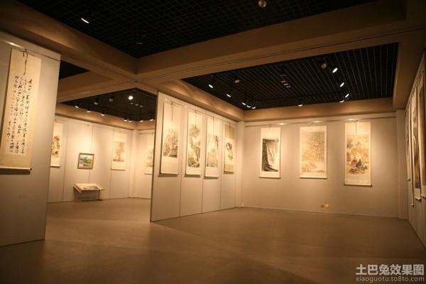 书画展厅设计效果图欣赏 (2/11)图片