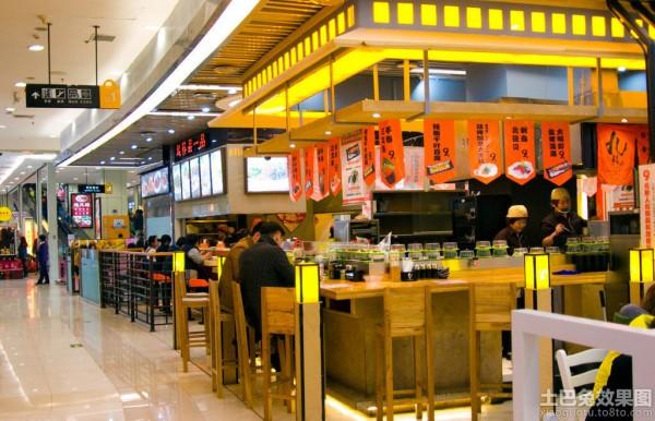 小型中式快餐店装修装修效果图