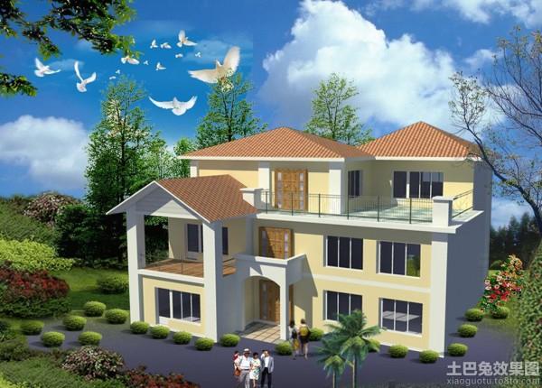 三层乡村小别墅设计图装修效果图