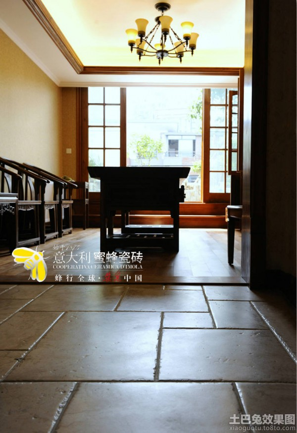 最新客厅室内地板砖装修图片装修效果图_第9张 - 家居