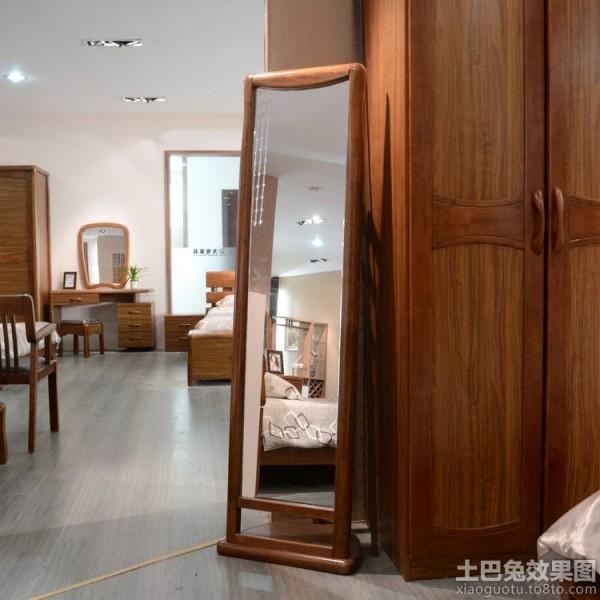 美式卧室穿衣镜装修效果图装修效果图