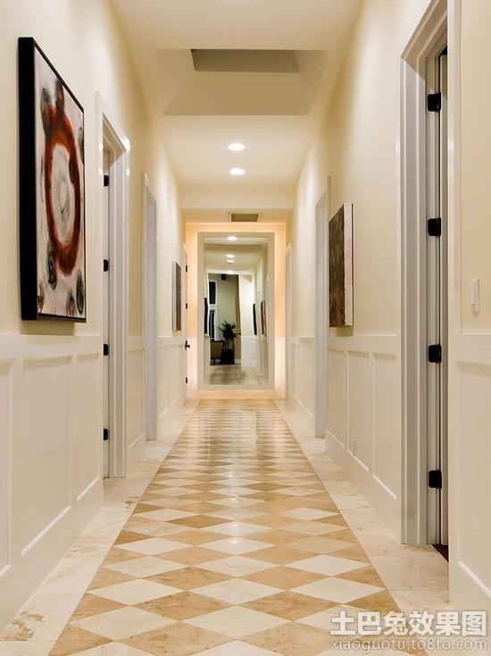 过道走廊地板砖效果图房子过道地板砖效果图图片5