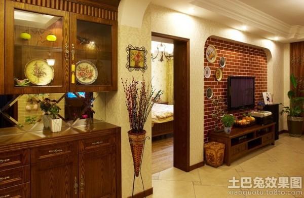 英式田园风格家庭室内装修图片 (2/10)图片