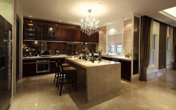 开放式大厨房的装修风格有哪些