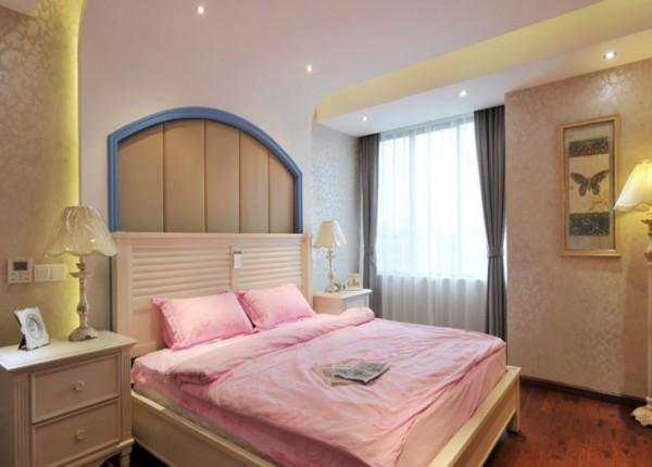 时尚家居欧式女生卧室设计图片装修效果图