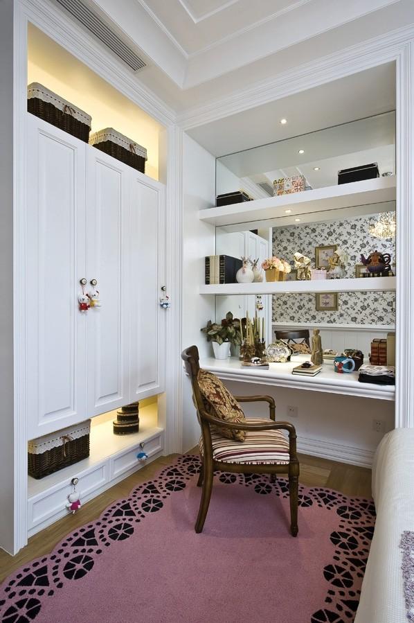 欧式风格复式楼房家装书房设计效果图 (15/15)图片