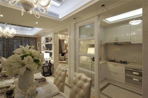 欧式厨房装修效果图大全2013图片 复古设计
