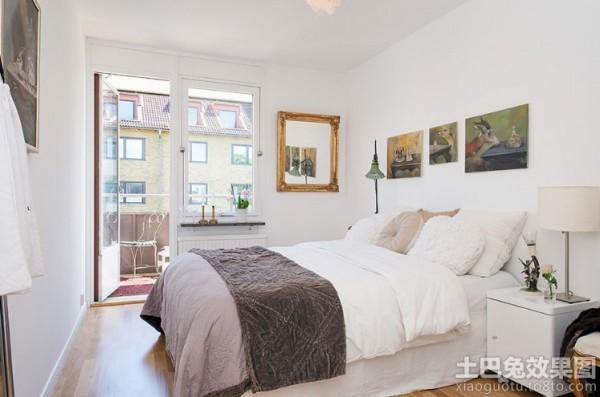 100平北欧风格卧室装修图装修效果图