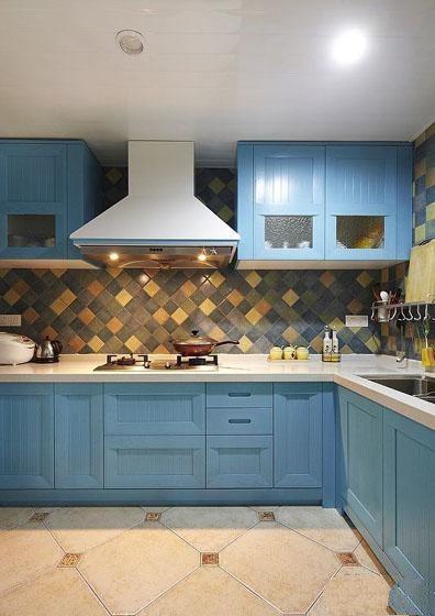 地中海风格装修厨房效果图片欣赏装修效果图