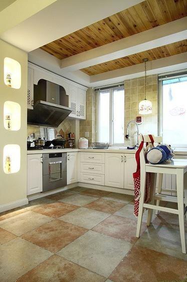 最新美式家居厨房装修效果图装修效果图
