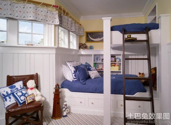 欧式风格阁楼儿童房装修装修效果图