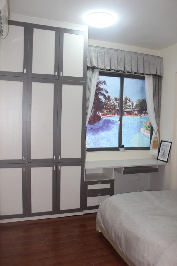 卧室窗户贴纸装修设计 (3/9)
