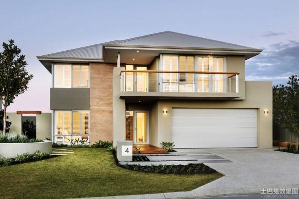 豪华别墅外观设计效果图大全欣赏装修效果图