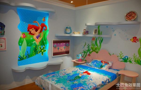 温馨儿童房装修与设计图片装修效果图