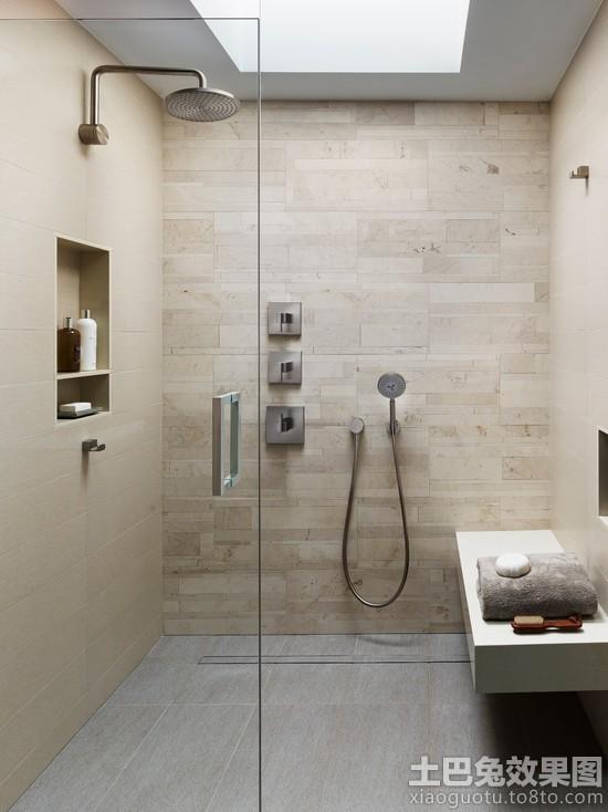 卫生间工业风格装修效果图