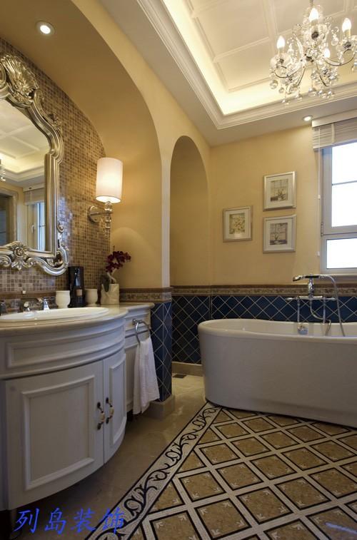 古典装修家庭卫生间设计图片装修效果图图片