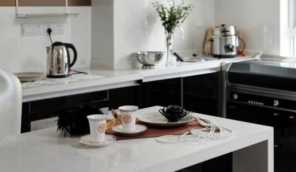 现代家居厨房大理石台面装饰图片欣赏装修效果图