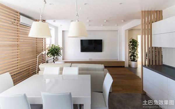 极简主义风格室内客厅电视背景墙效果图装修效果图